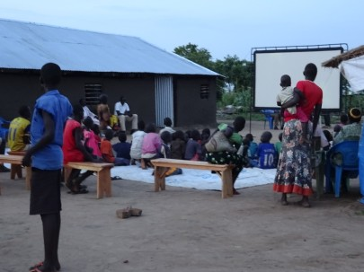 Jesus Film to Sudanese Refugees 2